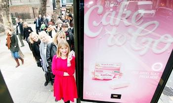 Mr Kipling brand cake ads