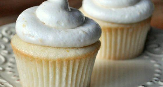 Yuzu Coconut Cupcakes