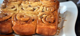 Sticky Buns with Golden Raisins