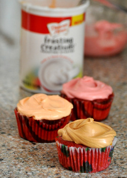 Duncan Hines Frosting Creations cupcakes