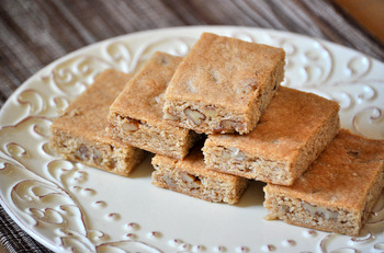 Maple Sugar Pecan Bars
