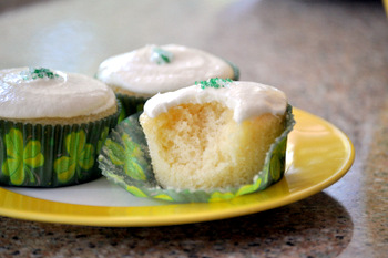 Lemon Lime Cupcakes, innards