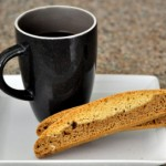 Two Tone Coffee Biscotti