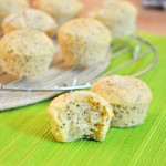 Mini Citrus Poppy Seed Muffins