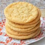 Double Vanilla Sugar Cookies
