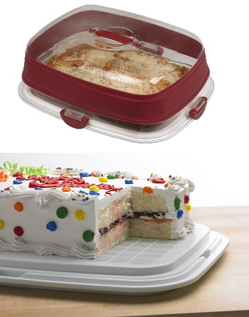 Progressive International Collapsible 9-by-13-Inch Cake Carrier