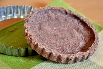 Chocolate Shortbread Tart Crust
