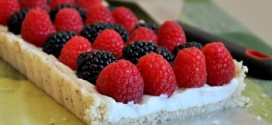 Mixed Berry and Mascarpone Tart