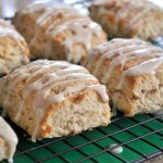 Toasted Coconut and Lime Scones