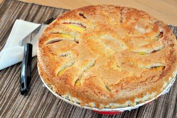 Summer Nectarine Cake