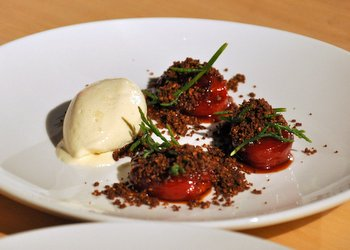 Caramelized Tomato Salad