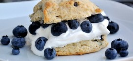 Double Blueberry Shortcakes