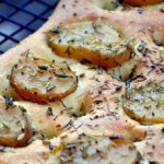 Potato and Herb Focaccia, up close