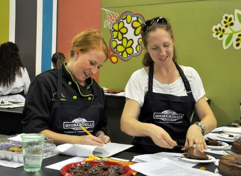 Judging the Ghirardelli Choc Contest