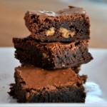 Fudgy One Bowl Brownies