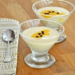 0% Passion Fruit Panna Cotta