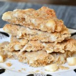Macadamia Coconut Cookie Brittle