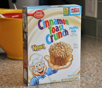 Cinnamon Toast Crunch Muffin Mix, reviewed