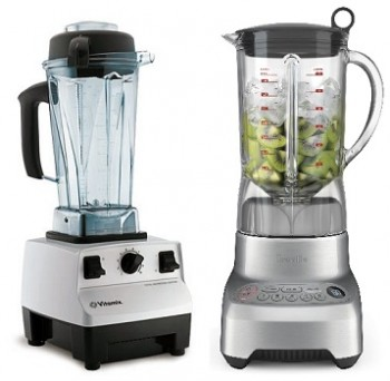 Vitamix and Breville Blenders