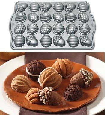 Nordic Ware Harvest Bites Cakelette Pan Baking Bites