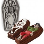 3D Skeleton in Coffin Pan