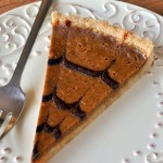 Pumpkin Tart Slice