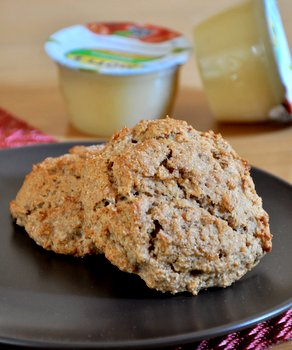 Apple Sauce Scones