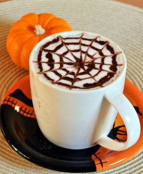 Spiderweb Hot Chocolate