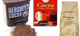 Cook's Illustrated Rates Supermarket Cocoa Powders