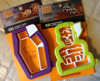 3D Halloween Cookie Cutters