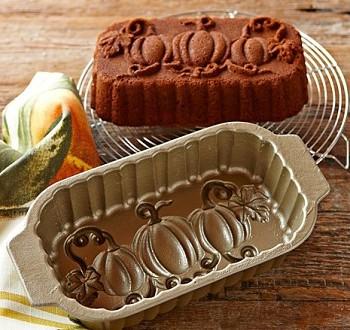 Nordic Ware Pumpkin Loaf Pan Baking Bites