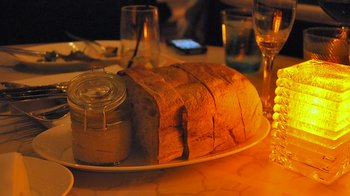 Bread from Gordon Ramsay at the London