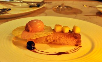 Pineapple Upside Down Cake from Gordon Ramsay at the London