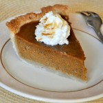 Maple Pumpkin Pie Slice