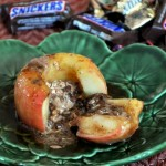 Candy Bar-Stuffed Baked Apples