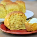 Browned Butter and Pumpkin Dinner Rolls