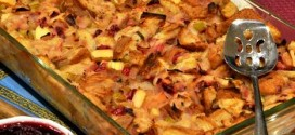 Cranberry, Apple and Sage Stuffing
