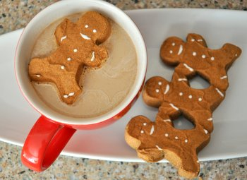 Gingerbread Man Hot Chocolate