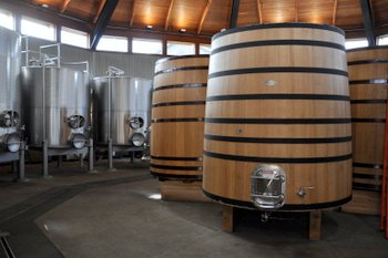 Paraduxx Winery Large Barrels