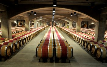 Mondavi Barrel Room