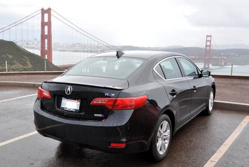 Acura ILX and Golden Gate Bridge