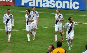 LA Galaxy: Bechkam, Keane, Wilhelmson, Magee and Donovan