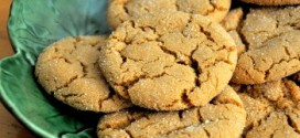 Orange and Spice Ginger Cookies