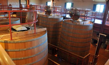 Fermentation Barrels at Mondavi