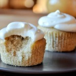 Banana Cupcakes with a Bite
