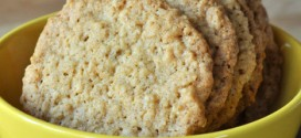 Thin & Crispy Salted Oatmeal Cookies