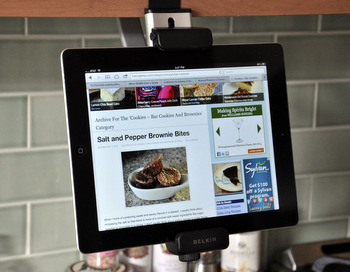 belkin kitchen cabinet tablet mount belkin tablet cabinet mount reviewed baking bites 7629