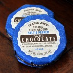 Trader Joe's Organic Stone Ground Salt and Pepper Dark Chocolate