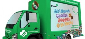 Girl Scouts launch Cookie Truck in NYC