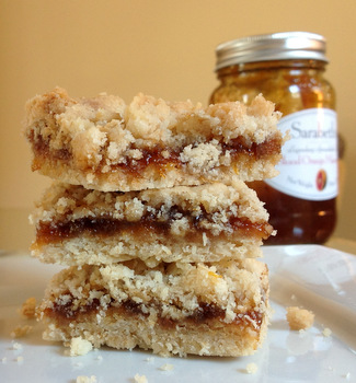 Marmalade Crumble Bars